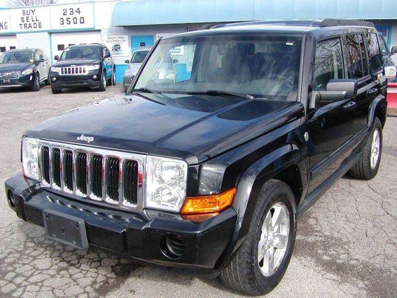 Jeep Commander 2007 $7995.00 incacar.com