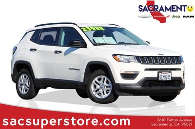 used Jeep Compass 2017 vin: 3C4NJCAB2HT629388