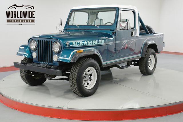Jeep Scrambler 1982 $18900.00 incacar.com