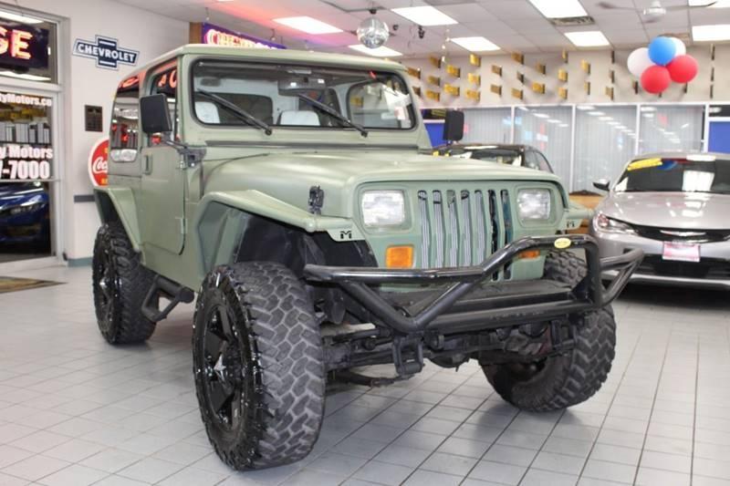 Jeep Wrangler 1991 $8850.00 incacar.com