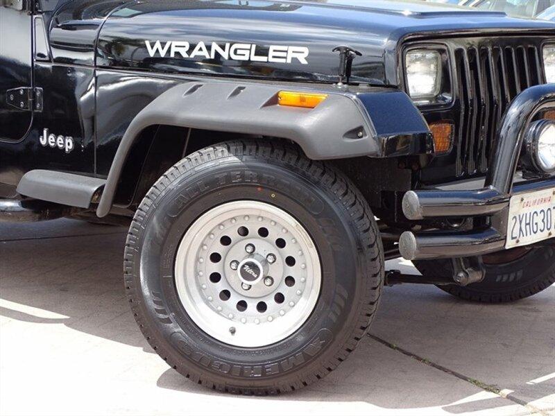 used Jeep Wrangler 1991 vin: 2J4FY19P4MJ156765