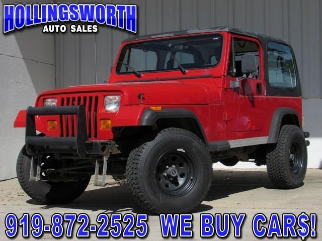 Jeep Wrangler 1994 $4990.00 incacar.com