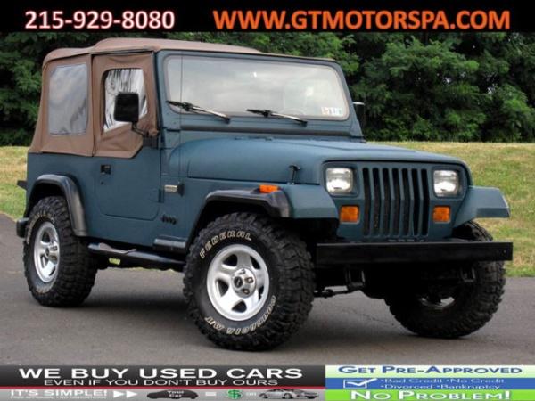 Jeep Wrangler 1995 $7895.00 incacar.com