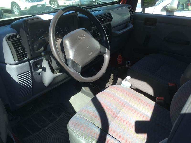Jeep Wrangler 1998 $4995.00 incacar.com