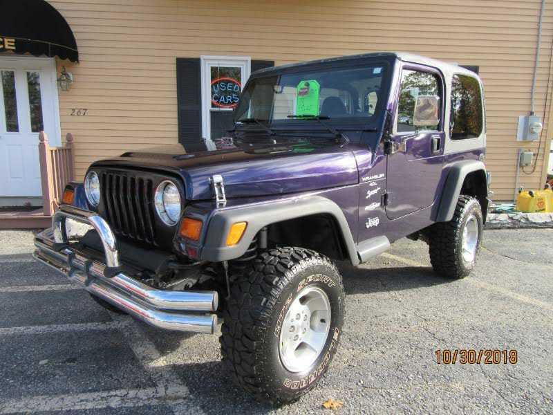 Jeep Wrangler 1999 $8990.00 incacar.com