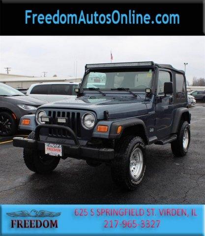 Jeep Wrangler 2001 $9998.00 incacar.com