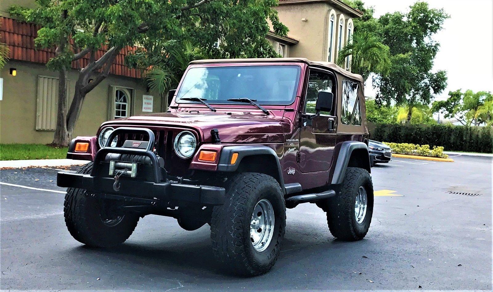 Jeep Wrangler 2001 $9600.00 incacar.com