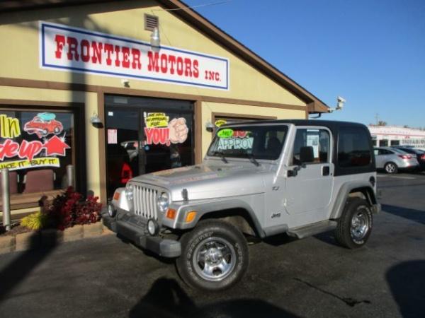 Jeep Wrangler 2002 $13995.00 incacar.com