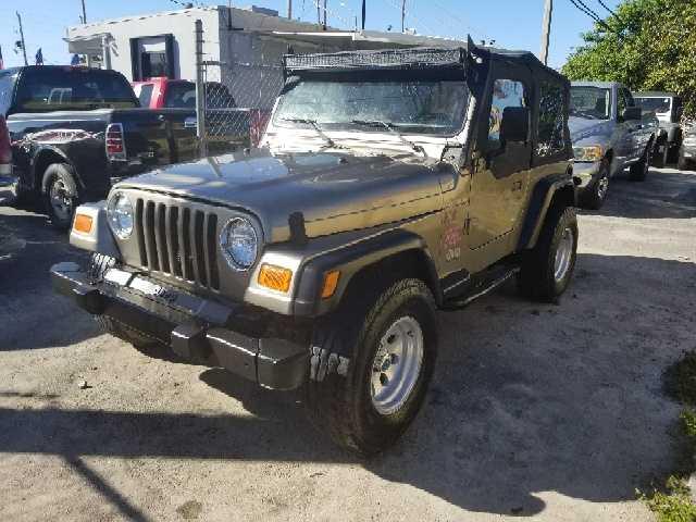 Jeep Wrangler 2002 $6990.00 incacar.com