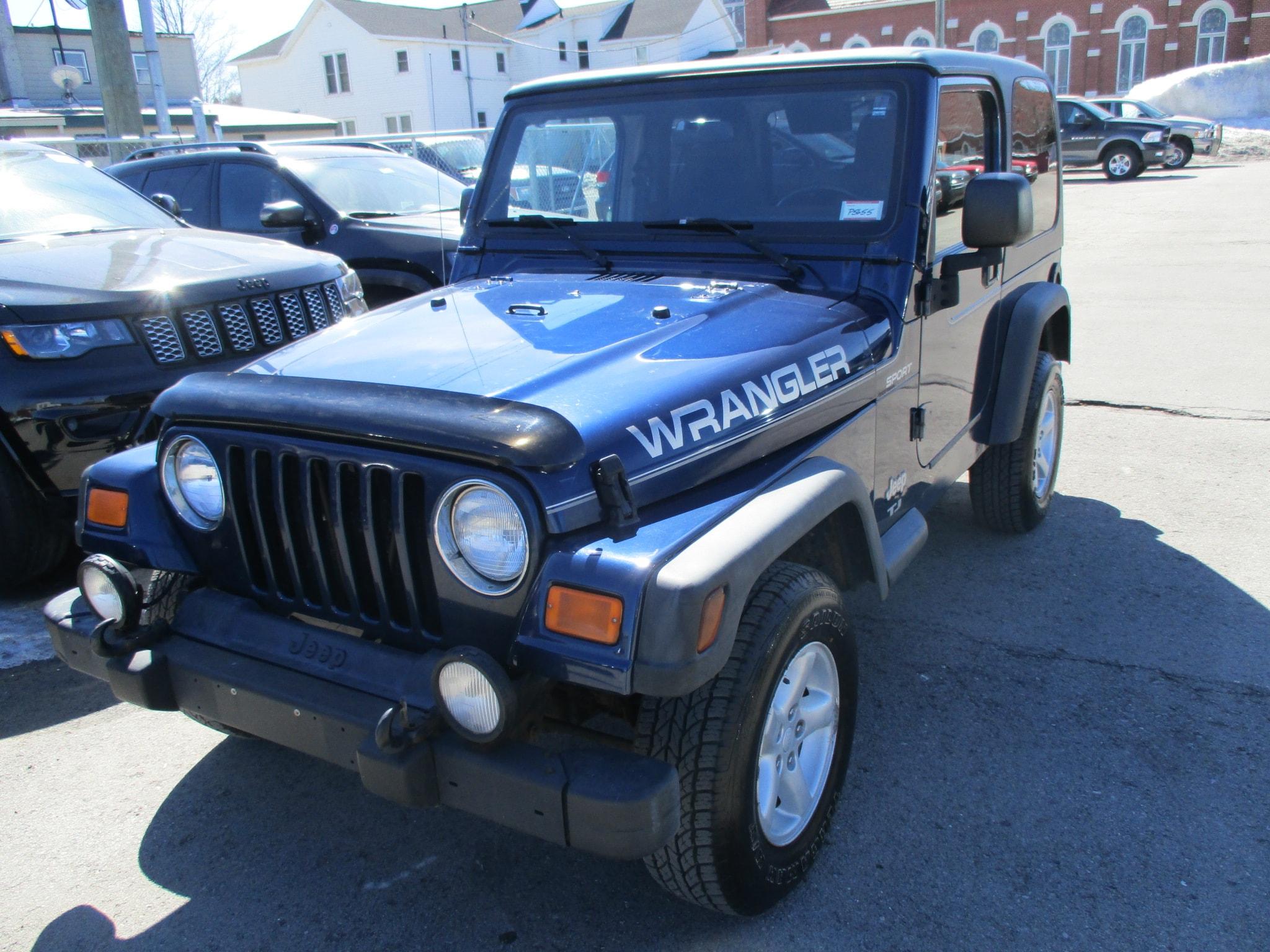 Jeep Wrangler 2003 $21045.00 incacar.com
