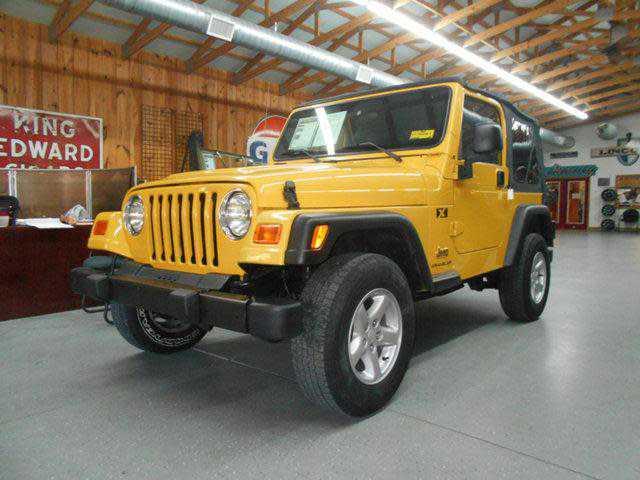 Jeep Wrangler 2003 $11950.00 incacar.com