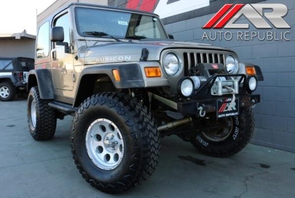 Jeep Wrangler 2003 $20771.00 incacar.com
