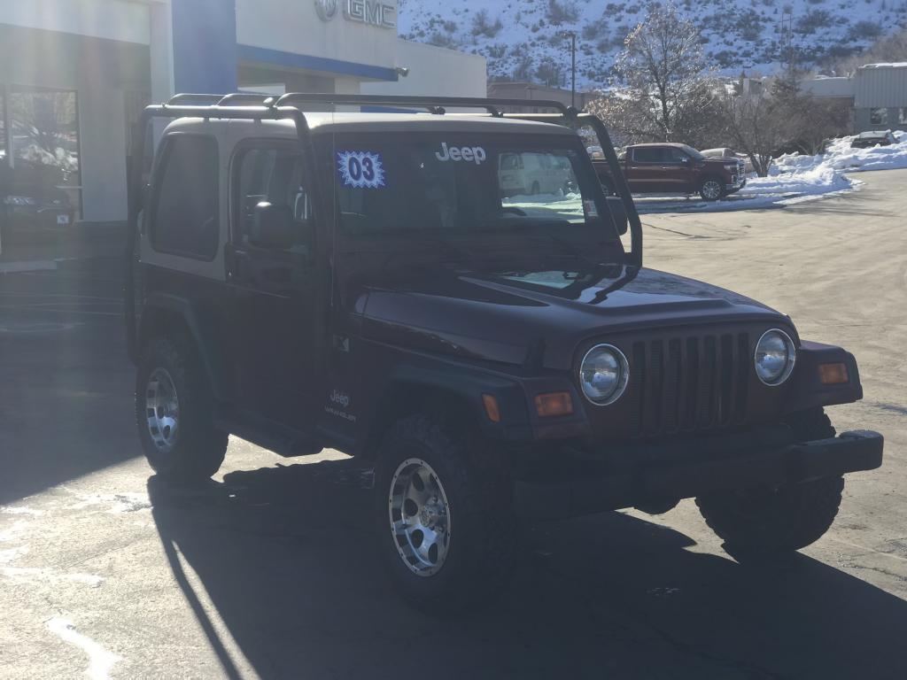 Jeep Wrangler 2003 $11374.00 incacar.com
