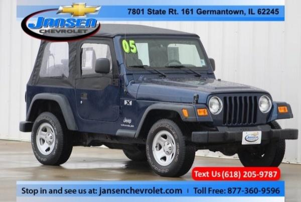 Jeep Wrangler 2005 $17780.00 incacar.com