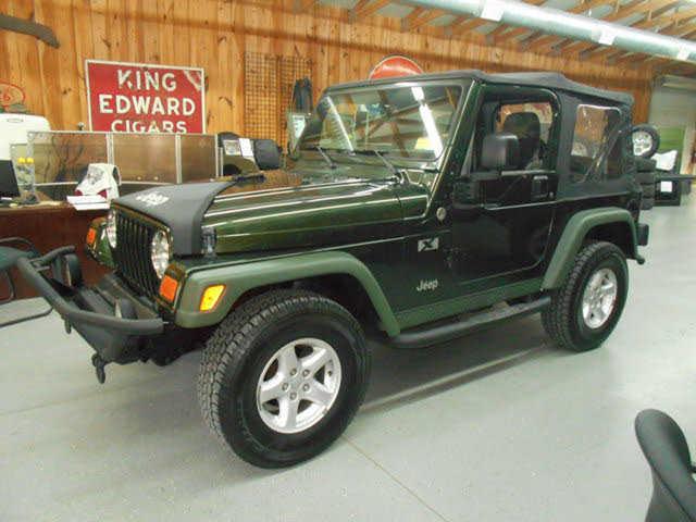 Jeep Wrangler 2005 $14950.00 incacar.com