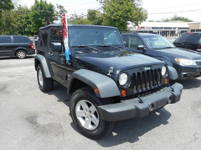 Jeep Wrangler 2007 $11495.00 incacar.com