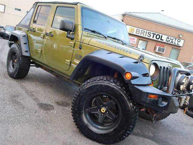 Jeep Wrangler 2007 $17995.00 incacar.com