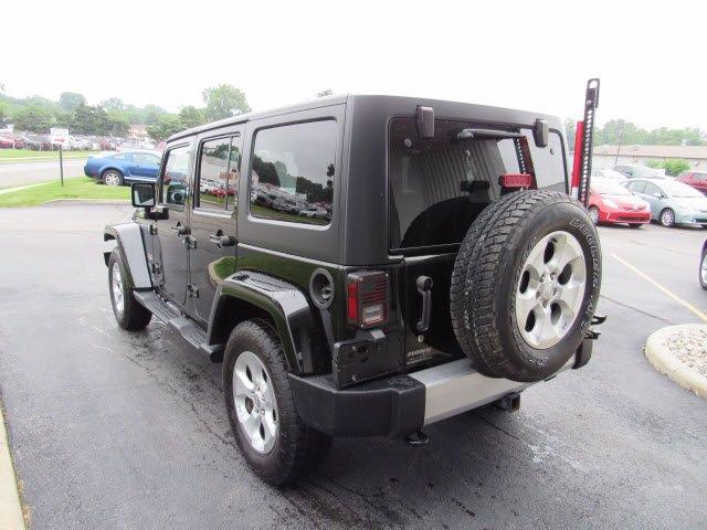 2014 Jeep Wrangler Unlimited Sahara