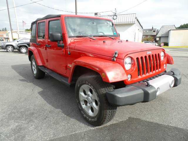 Jeep Wrangler 2014 $33287.00 incacar.com