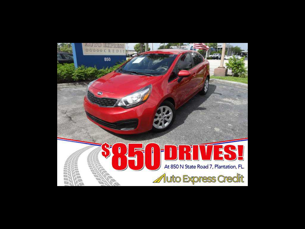 2015 Kia Rio 644500 For Sale In Plantation FL 33317