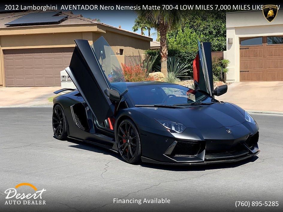 Lamborghini Aventador 2012 $259000.00 incacar.com