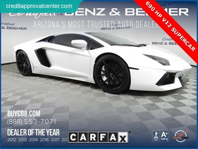 Lamborghini Aventador 2012 $242500.00 incacar.com