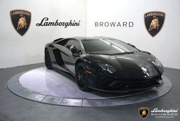used Lamborghini Aventador 2018 vin: ZHWUG4ZD0JLA06952