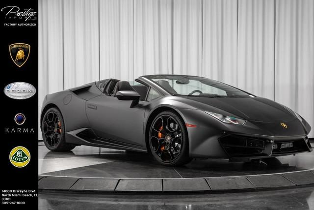Lamborghini Huracan 2017 $234950.00 incacar.com