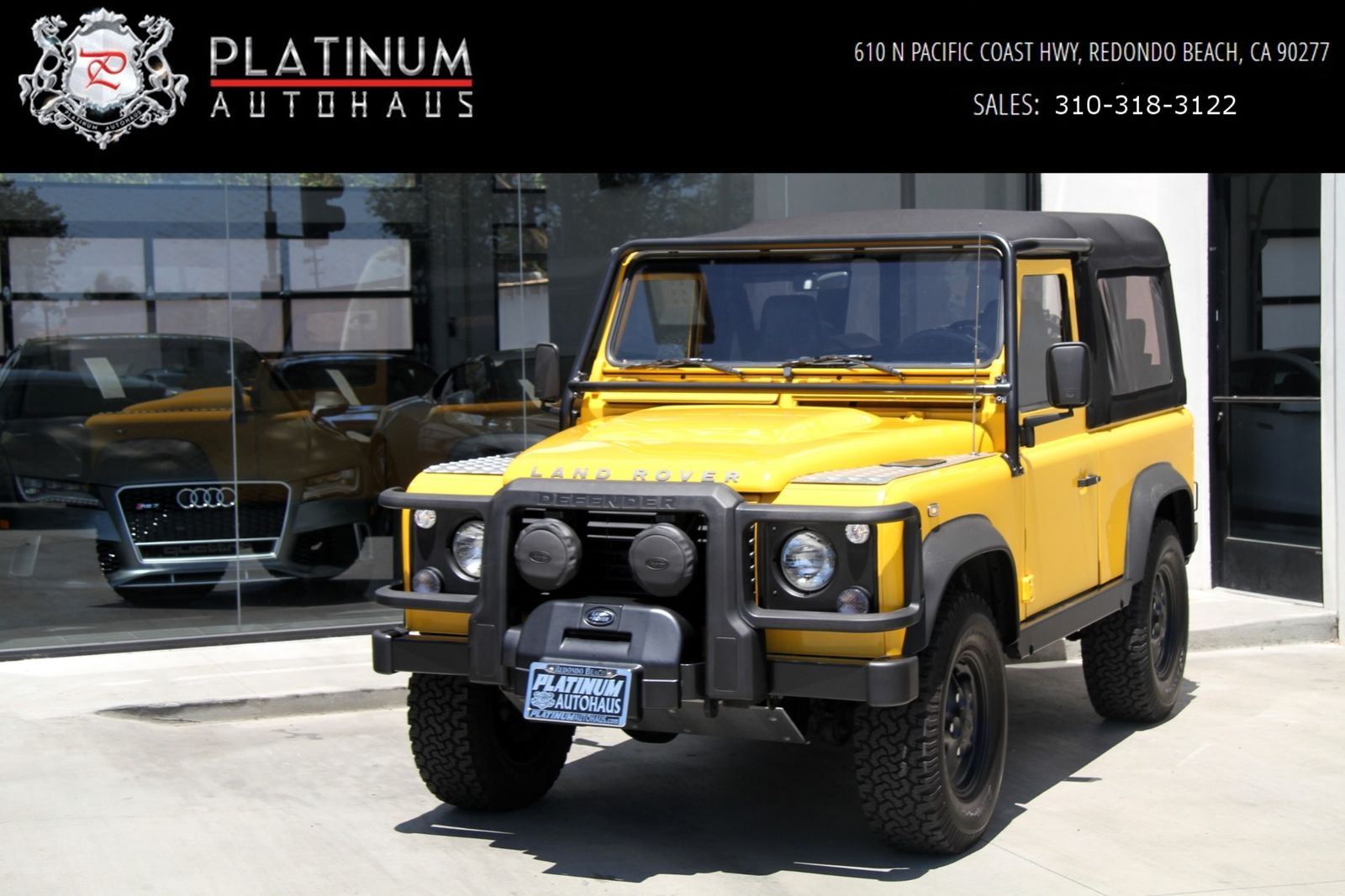 Land Rover Defender 1995 $76888.00 incacar.com