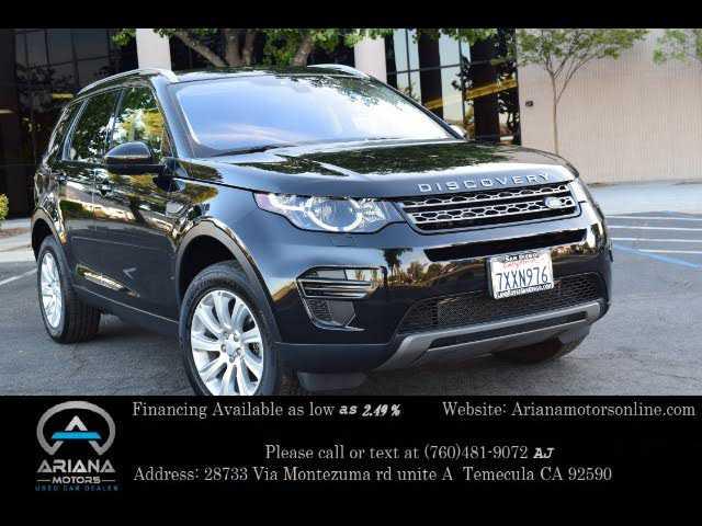 Land Rover Discovery Sport 2017 $26999.00 incacar.com