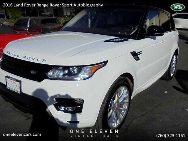 Land Rover Range Rover Sport 2016 $76900.00 incacar.com