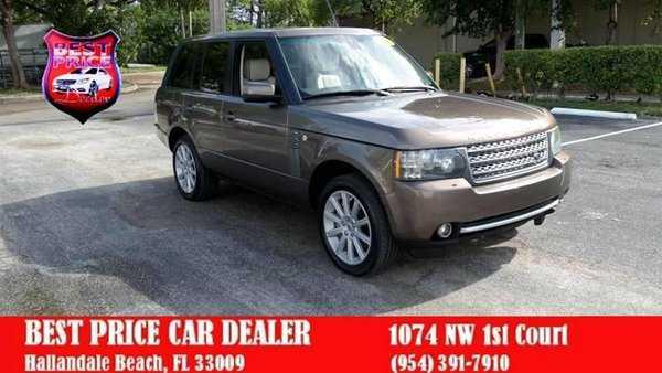 Land Rover Range Rover 2010 $13999.00 incacar.com