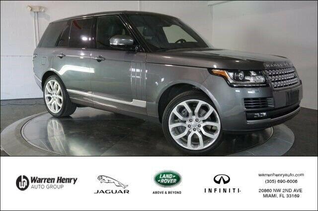 Land Rover Range Rover 2016 $63984.00 incacar.com