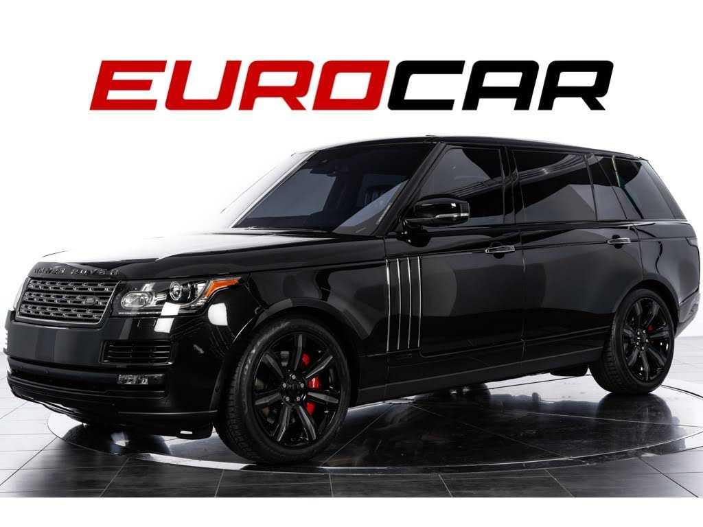 Land Rover Range Rover 2016 $134888.00 incacar.com