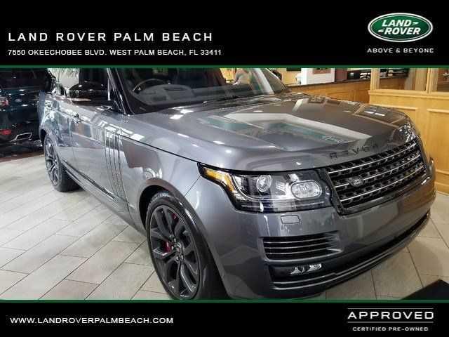 Land Rover Range Rover 2017 $128555.00 incacar.com