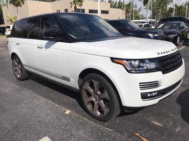 Land Rover Range Rover 2017 $118900.00 incacar.com