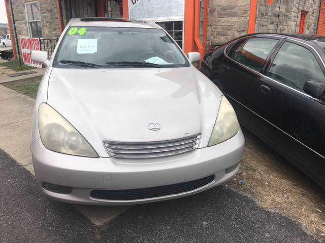 Lexus ES 2004 $2995.00 incacar.com