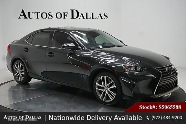 used Lexus IS 2018 vin: JTHBA1D26J5065588