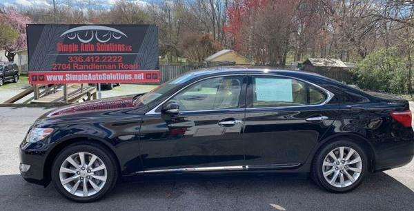 used Lexus LS 2010 vin: JTHCL5EF7A5006122