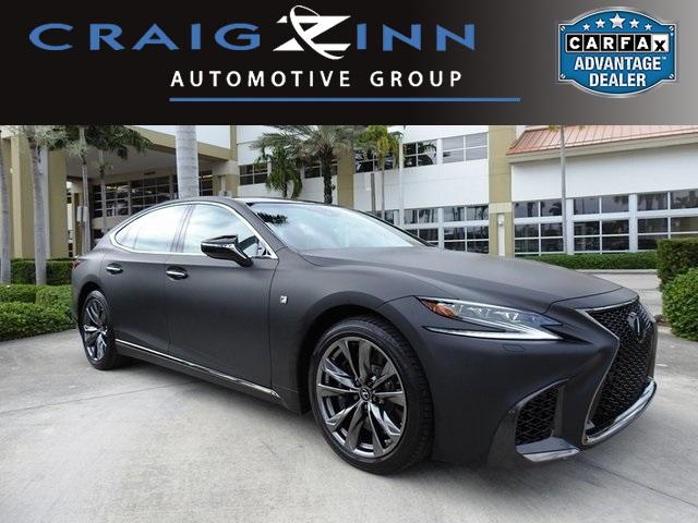 used Lexus LS 2018 vin: JTHB51FF7J5001404