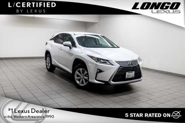 Lexus RX 2017 $46988.00 incacar.com