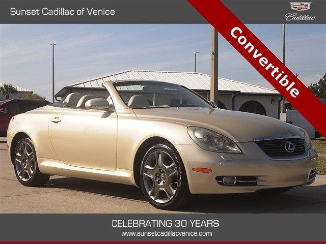 Lexus SC 2007 $24899.00 incacar.com