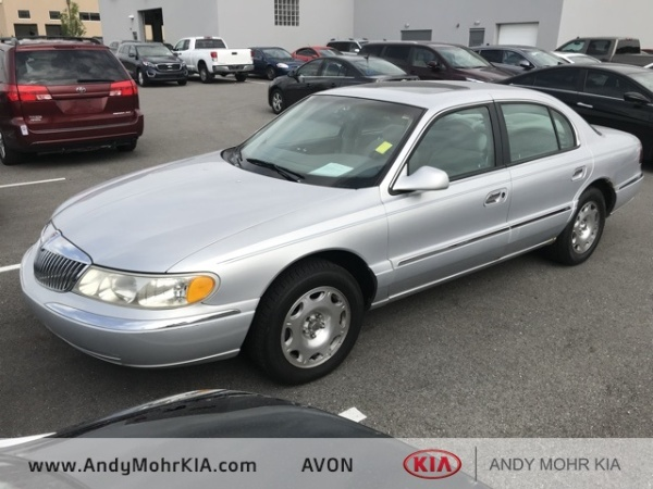 used Lincoln Continental 1998 vin: 1LNFM97V8WY679963
