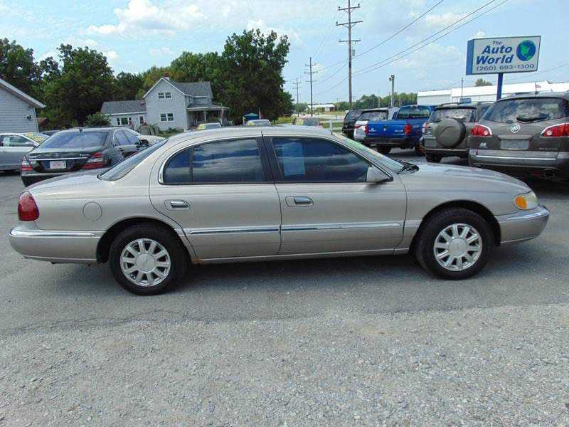 Lincoln Continental 2000 $1200.00 incacar.com