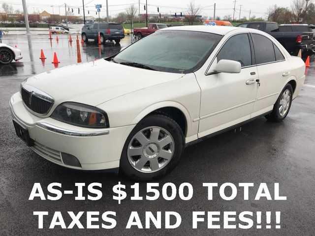 Lincoln LS 2003 $1500.00 incacar.com