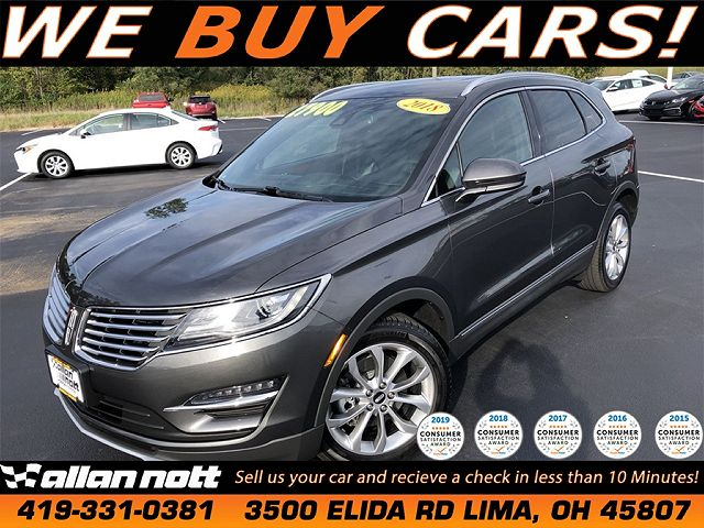 used Lincoln MKC 2018 vin: 5LMCJ2C94JUL32610