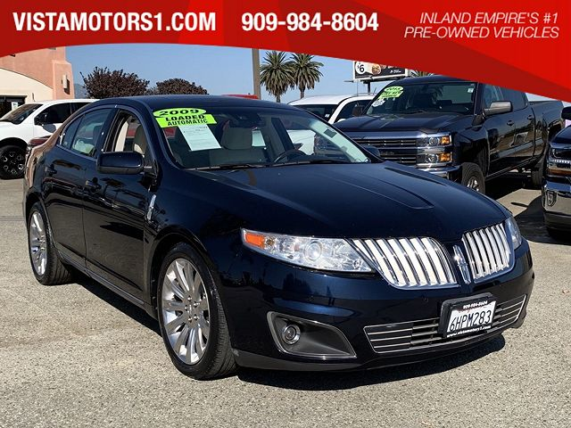 used Lincoln MKS 2009 vin: 1LNHM94R59G631802