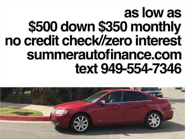 Lincoln MKZ 2007 $1999.00 incacar.com