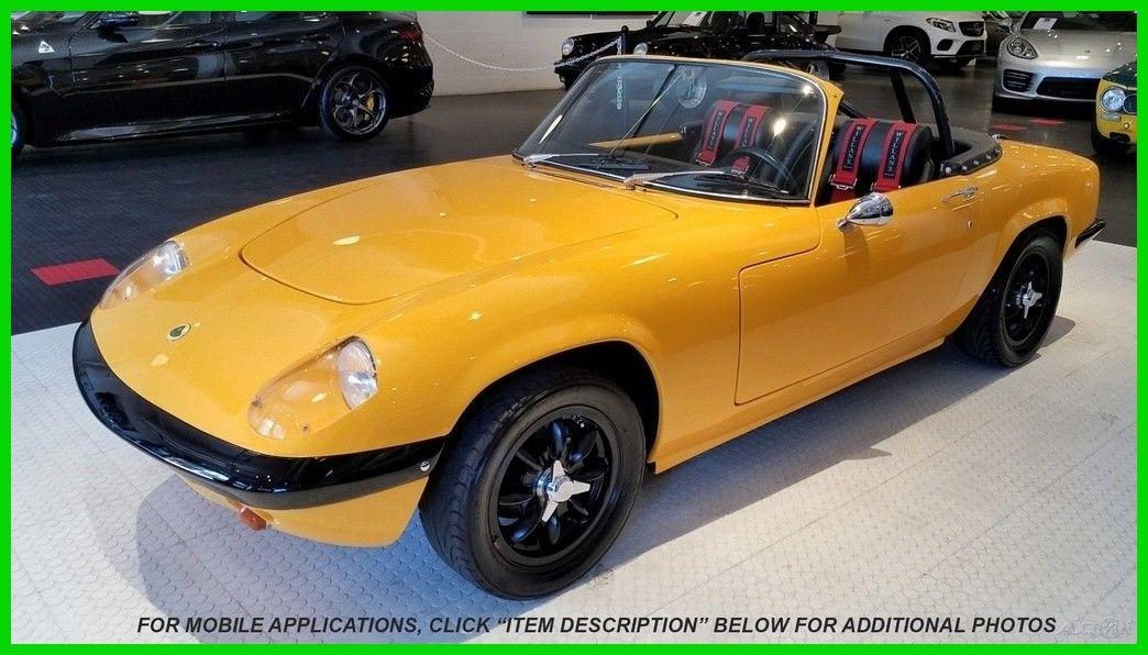 Lotus Elan 1969 $49900.00 incacar.com