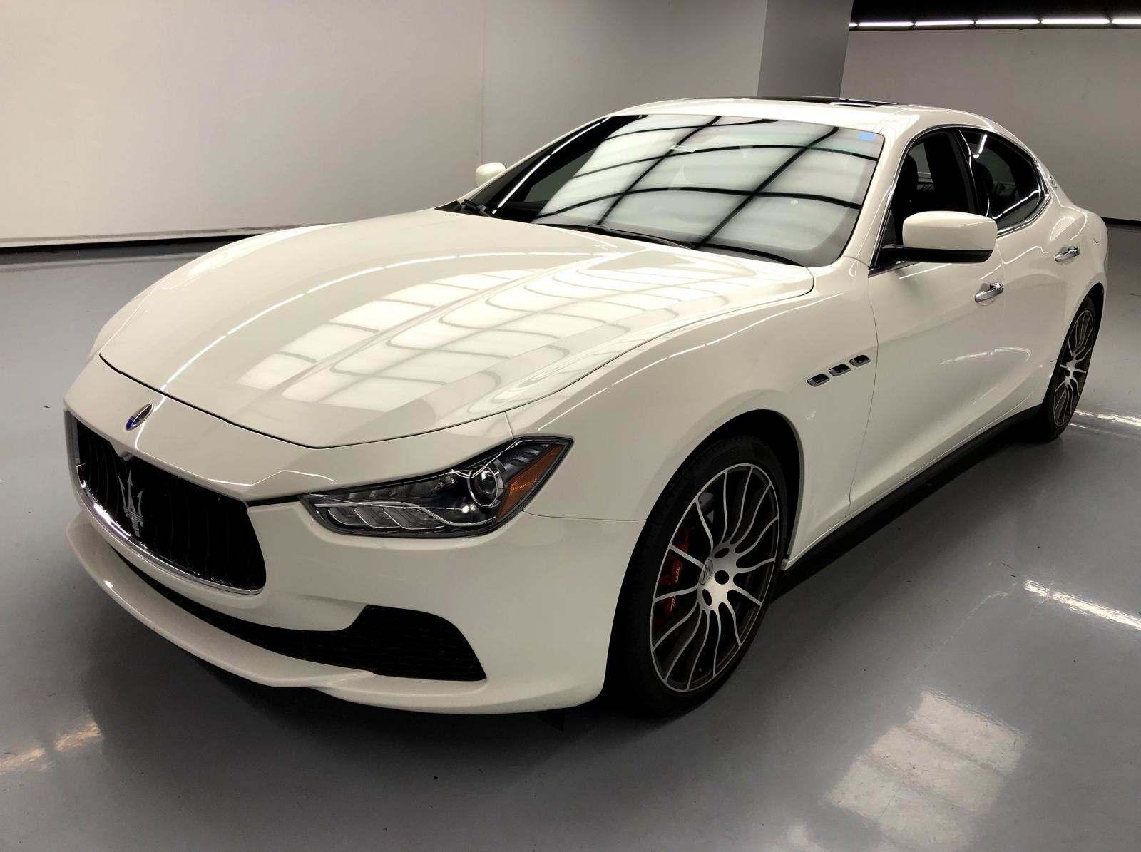 used Maserati Ghibli 2016 vin: ZAM57RSA7G1169069